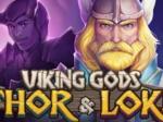 Viking Gods Thor and Loki