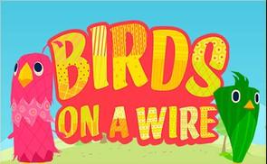 Birds on a wire desktop